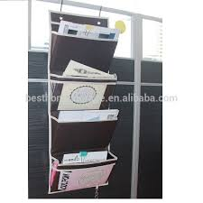office door mail holder. Oxford Hanging Folder Wall Organizer Office Mail Over The Door Magazine Storage (4 Pockets Holder