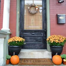 front door decorating ideas22 Fall Front Porch Ideas veranda  Home Stories A to Z