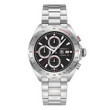 tag heuer formula 1 watches beaverbrooks the jewellers tag heuer formula 1 automatic chronograph men s watch