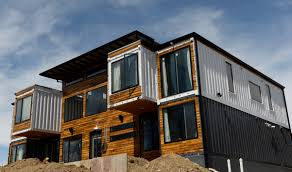 Homes Built From Shipping Containers 4000 Square Foot Colorado Shipping Container House Photos