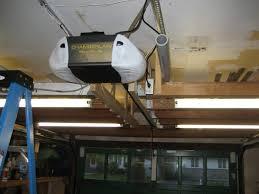 nice image ceiling lighting design ideas with how to install garage door opener plus iron garage car