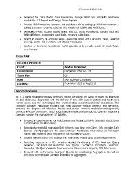 Consultant (SAP HANA) ...