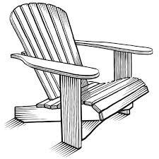 adirondack chair silhouette. Awesome Adirondack Chair Sketch Contemporary - Liltigertoo.com . Silhouette F