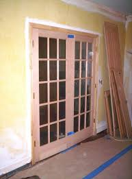 Hand Crafted Stain Grade French Door Install by Blue Ridge Woodworks ...