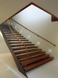 stair case lighting. designs ideasfloating staircase with striped led lighting idea wooden wood and stair case