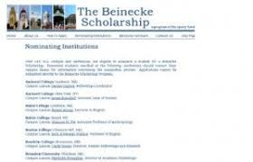 the top sample scholarship essays that have succeeded in  beinecke scholarship essay