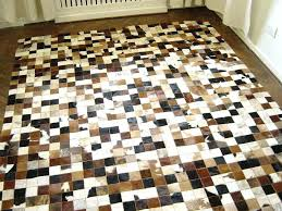 cowhide leather rug patchwork leather rug new cowhide carpet cu patchwork cowhide leather rugs how to