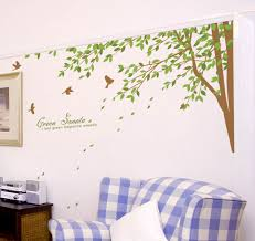 on wall decal vinyl art stickers decor with large tree wall decals for nursery