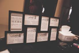 Show Me Your Creative Escort Card Seating Chart Ideas
