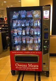 Why Vending Machines Are Good Simple There's A Meat Vending Machine In Seattle's Flagship Nordstrom For