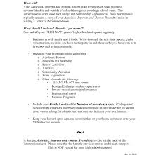 Exceptional High School Resume Format Student Example Senior ...