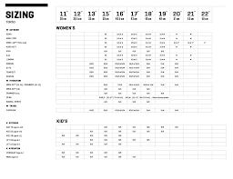 Size Charts For Osprey Backpacks