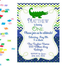 Alligator Birthday Invitation Alligator Invitation Boys Birthday Invitation Alligator Party Invite Kids Party Invites Gator Party