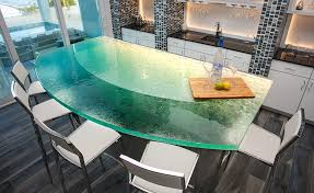 add a glass raised bar in your kitchen basement or even your outdoor kitchen or pool area a hand finished creation that is both practical and distinctive