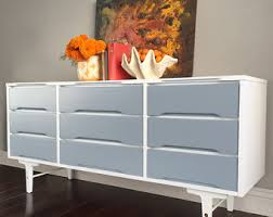 modern painted furniture. Attractive SOLD Mid Century Modern Dresser, White Vintage, Buffet, Painted Furniture S