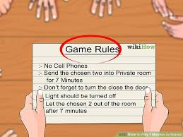 3 Ways To Play 7 Minutes In Heaven Wikihow