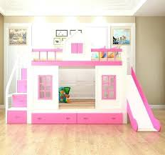 kids bunk bed for girls. 3 Kid Bunk Bed Girls With Slide Kids And Stairs Best Regarding  Remodel Loft . For