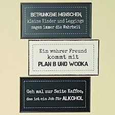 Schild Rod Aus Eisen Lackiert Farbmix Breite 40 Cm Spruch