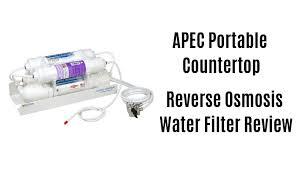 apec portable countertop reverse osmosis water filter review