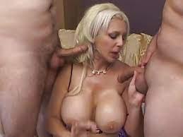 Blonde Big Tits Threesome Mmf
