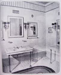 The Sink With Twin Mirrors Flanking The Vanity Mirror Has Nice