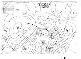 Sa Summer Synoptic Chart 1 Sa Geography