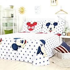 mickey mouse bedding set 3 twin toddler mickey mouse and twin velvet bedding
