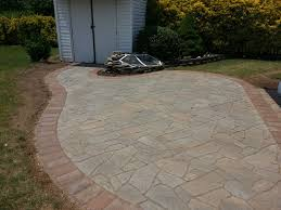 flagstone paver patio in bowie md