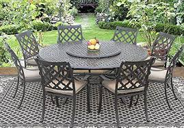 71 inch round table 35 lazy susan