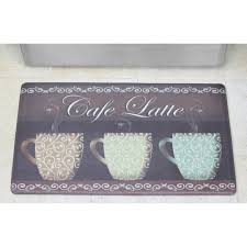 Cushioned Floor Mats For Kitchen Chef Gear Cafac Latte Anti Fatigue Cushioned Chef Kitchen Mat