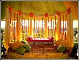 Small Picture Affordable Indian Wedding Decoration Ideas For Home Wedding Plan