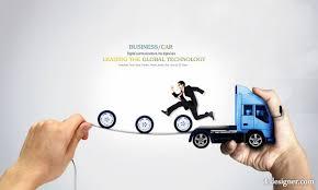 Creative Design Templates 4 Designer Creative Truck Template Text Design 02 Psd Layered Material