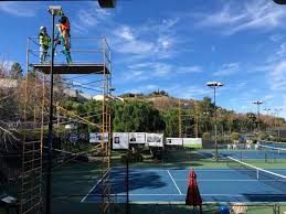 How Much Does It Cost To Light A Tennis Court Cost To Install Tennis Court Lights Tennis Gems