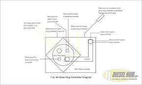 glow plug wiring diagram electronic schematics collections6 9 glow plug wiring diagram data wiring diagram