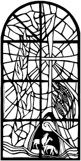 Printable Stained Glass Coloring Pages Free With For 9001434