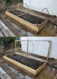 hinged raised vegetable bed