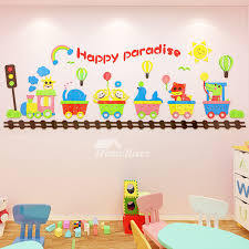 3d vinyl wall decor stickers for kids