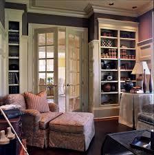 bookshelves office. Feminine Home Office Victorian With Built In Bookshelves French Doors
