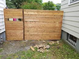 horizontal wood fence diy. Outdoor: Horizontal Fence Best Of Modern Slat Diy - Extension Wood