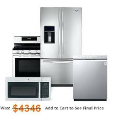 appliance suite deals.  Deals Kitchen Appliance Suites 4 Piece Stainless Steel Package  Lovely Packages Best Suite Deals For C