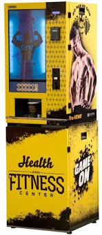 Gym Supplement Vending Machine Mesmerizing TruVEND Supplement Vending Machine Elektral As