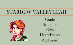 stardew valley leah