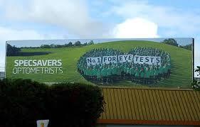 amazing billboards from around the world specsavers optometrists billboard