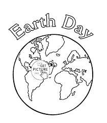 Earth Coloring Pages Page Of Planet Save The Printable Co