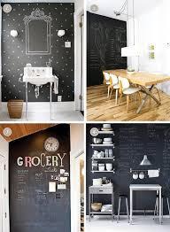 kitchen in chalkboard paint