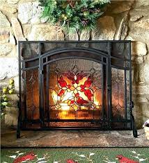 glass fireplace screen. Frontgate Fireplace Screen Beveled Glass Es . B
