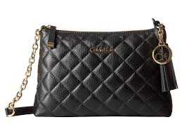 Lyst - Calvin klein Quilted Pebble Leather Tassel Crossbody in Black & Gallery. Previously sold at: Macy's, Zappos · Women's Calvin Klein Crossbody Adamdwight.com