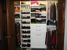 reach in closet design. In This Design, We Utilized (from Left To Right) Reach Closet Design L