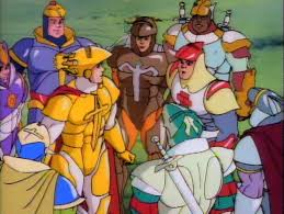 king arthur and the knights of justice the cartoon sbook
