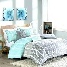 aqua and white bedding c aqua grey and white bedding